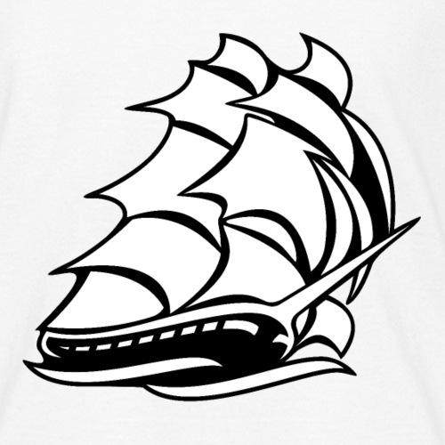 Old Tall Sailing Ship - Kids' T-Shirt