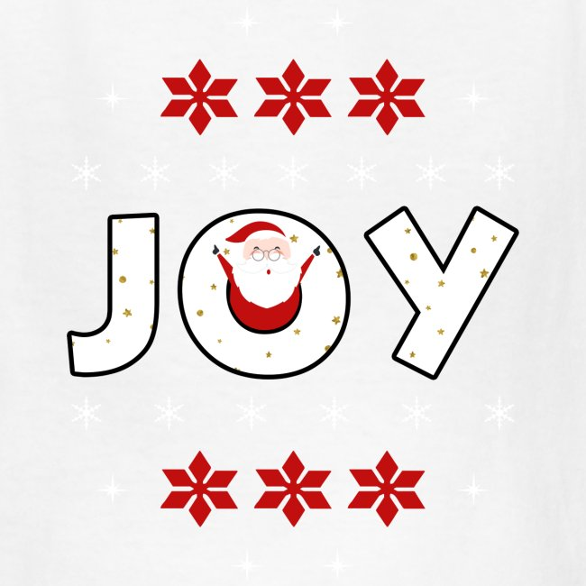 Christmas JOY Santa Clause Ugly Style