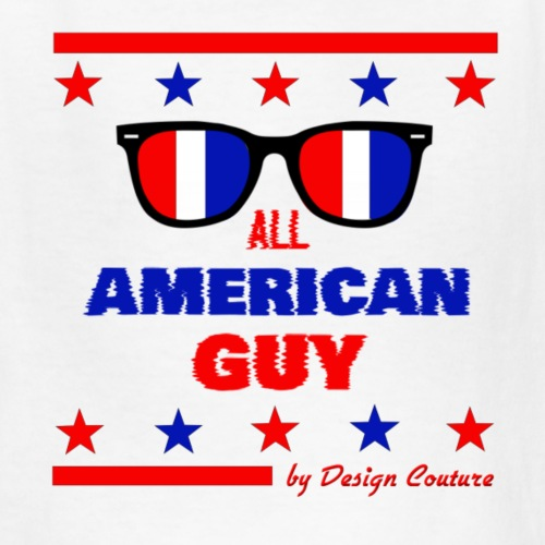 4TH OF JULY ALL AMERICAN GUY - Kids' T-Shirt