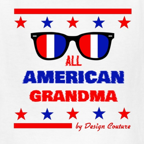 4TH OF JULY ALL AMERICAN GRANDMA - Kids' T-Shirt