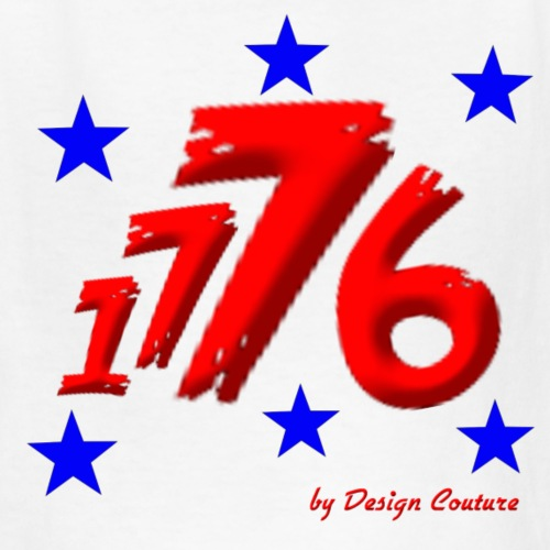 4TH OF JULY 1776 RED - Kids' T-Shirt