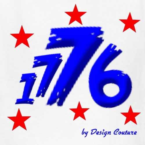 4TH OF JULY 1776 BLUE - Kids' T-Shirt