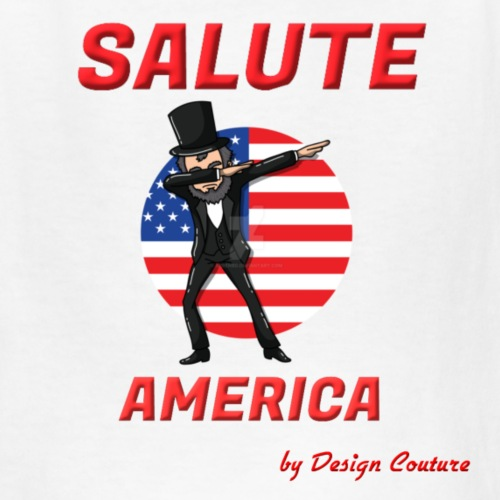 SALUTE AMERICA RED - Kids' T-Shirt