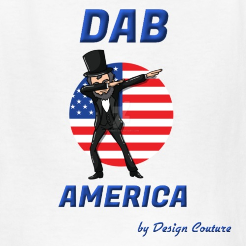 DAB AMERICA BLUE - Kids' T-Shirt