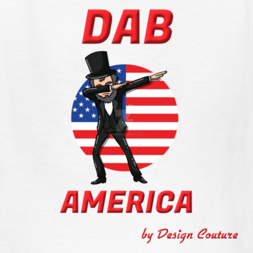 DAB AMERICA RED - Kids' T-Shirt