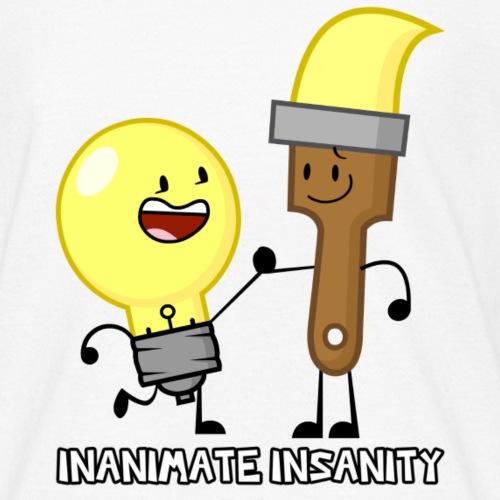 Lightbulb Paintbrush Duo - Kids' T-Shirt