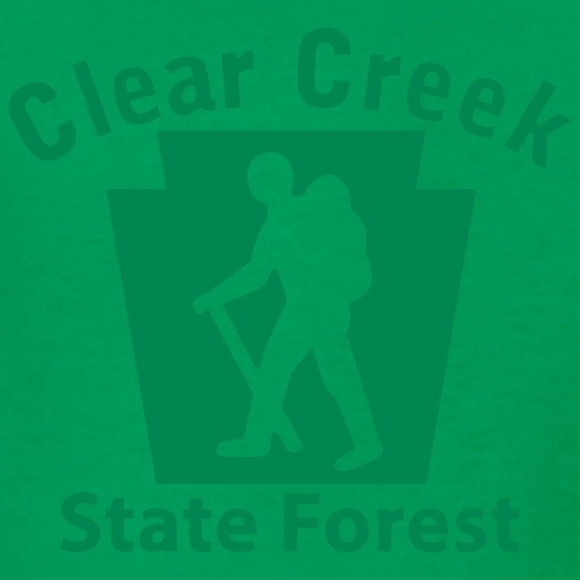 Clear Creek State Forest Keystone Hiker male