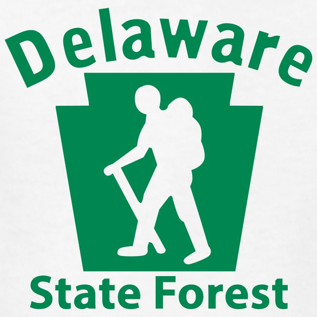 Delaware State Forest Keystone Hiker male