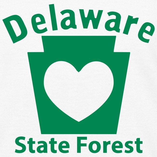 Delaware State Forest Keystone Heart