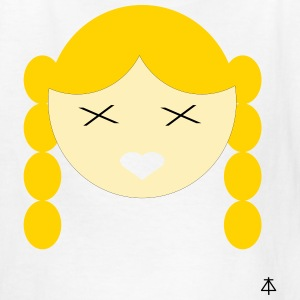 Girl with Braids - Kids' T-Shirt