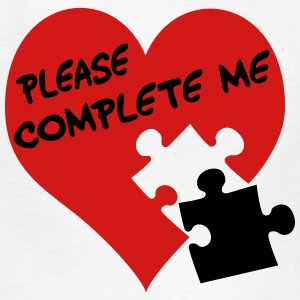 Please complete me / Love - Kids' T-Shirt