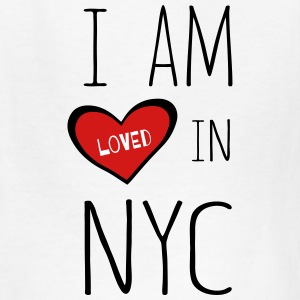 I am loved in NYC - Kids' T-Shirt