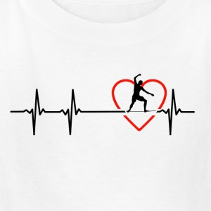 slackline design - Kids' T-Shirt