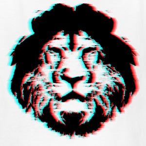 3D Lion Face - Kids' T-Shirt