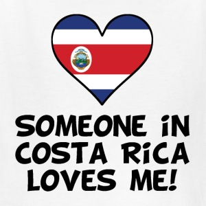 Someone In Costa Rica Loves Me - Kids' T-Shirt