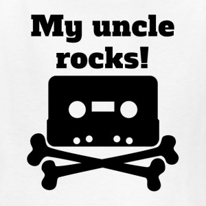 My Uncle Rocks - Kids' T-Shirt