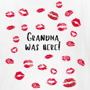 Grandma was here! - Kids' T-Shirt