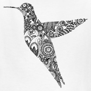 Humming bird - Kids' T-Shirt