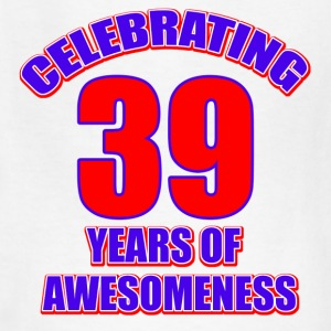 39th birthday design - Kids' T-Shirt