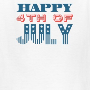 Happy 4th of July Independence Celebration - Kids' T-Shirt