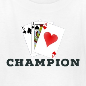 Card Game 45s Champion. - Kids' T-Shirt