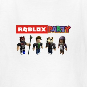 roblox party - Kids' T-Shirt