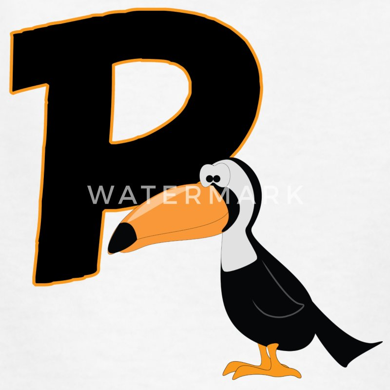 P Is For Puffin - Kids' T-Shirt