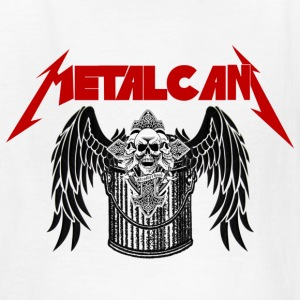 #92 Rock Metal Band Parody - Metal Can - Kids' T-Shirt