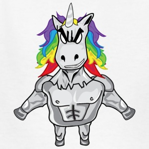 Cool Masculine Unicorn Dude - Kids' T-Shirt