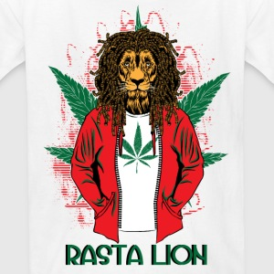 RASTA LION - Kids' T-Shirt