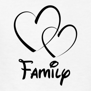 Heart Family - Kids' T-Shirt