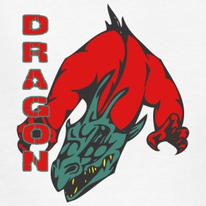 dragon_with_hands_red - Kids' T-Shirt