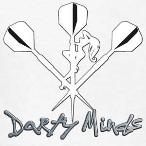 Darty Minds Darts Shirt - Kids' T-Shirt