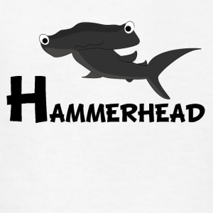 Cartoon Hammerhead Shark - Kids' T-Shirt