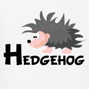 Cartoon Hedgehog - Kids' T-Shirt