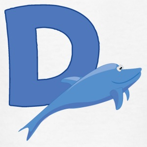 D Is For Dolphin - Kids' T-Shirt