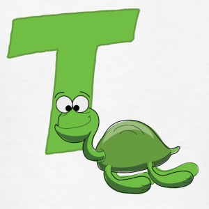 T Is For Turtle - Kids' T-Shirt