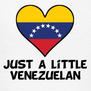 Just A Little Venezuelan - Kids' T-Shirt
