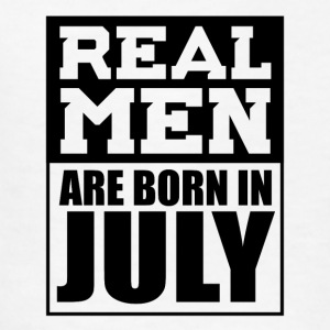 Real Men are Born in July - Kids' T-Shirt