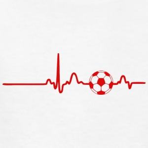 EKG HEARTBEAT BALL red - Kids' T-Shirt