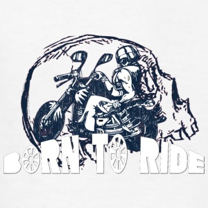 BURN_TO_RIDE_WITH_SKULL - Kids' T-Shirt
