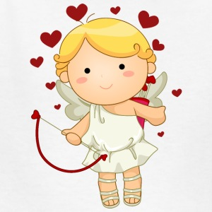 cupid-smile-cupid-wings-smile-bow - Kids' T-Shirt