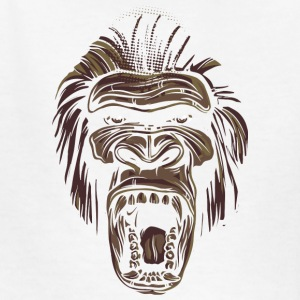 ape face - Kids' T-Shirt