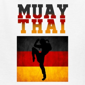 Muay_Thai_Germany - Kids' T-Shirt