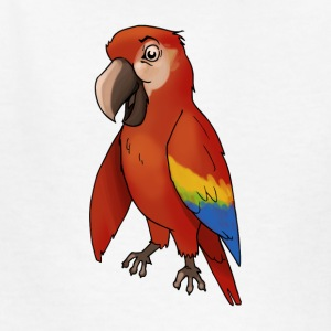 parakeet finch budgerigar budgie parot dove bird - Kids' T-Shirt