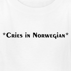 Cries in Norwegian (Skam) - Kids' T-Shirt