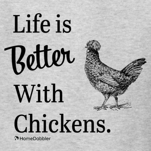 Life is Better with Chickens - Kids' T-Shirt
