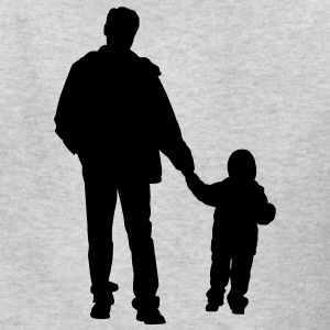 father and son 2 - Kids' T-Shirt
