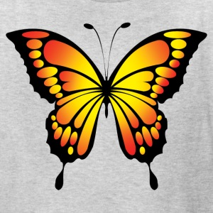 Bright Yellow Butterfly - Kids' T-Shirt