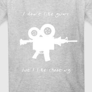 I don't like Guns collection #1 (white) - Kids' T-Shirt